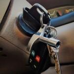 מפתח נעול ברכב